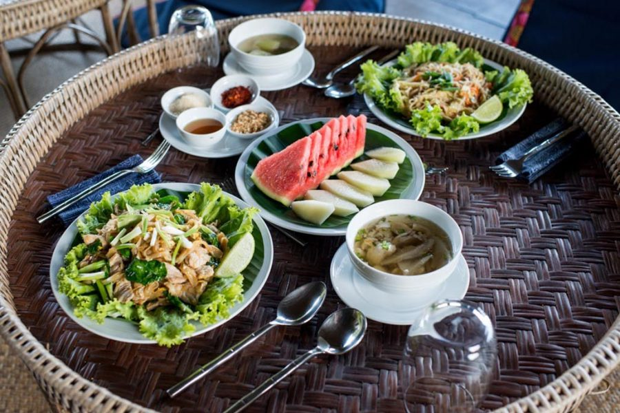 Food at Lanjia lodge